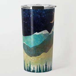 Snowy Night Travel Mug