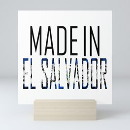 Made In El Salvador Mini Art Print