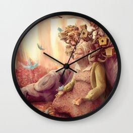 Mme. Colomba Wall Clock