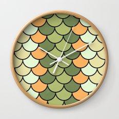 Citrus Tones Wall Clock