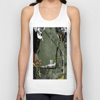 climbing Tank Tops featuring Rock Climbing by Robin Curtiss