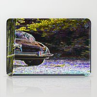 car iPad Cases featuring Car by Lior Blum