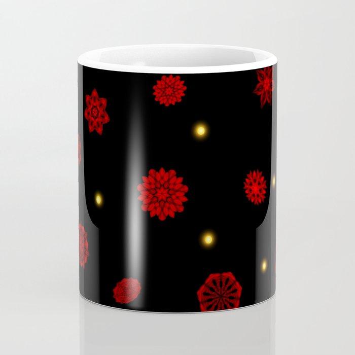 Fire in the Night Coffee Mug