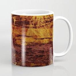Abstract 21 - Firey Metal Coffee Mug