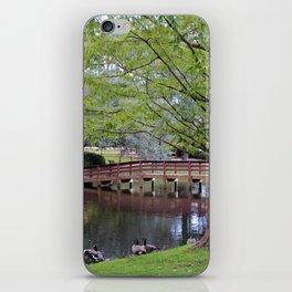 Park Geese iPhone Skin