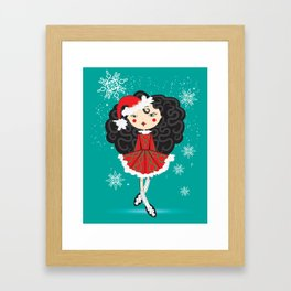 The Reel Santa Framed Art Print