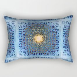 No Bailouts Rectangular Pillow