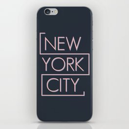 NEW YORK CITY iPhone Skin