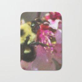 Bee on Flower Bath Mat