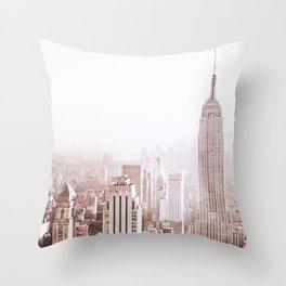 New York City Late Afternoon Throw Pillow