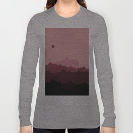 Love Mountain Range Long Sleeve T-shirt
