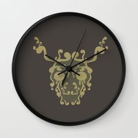 moose Wall Clocks featuring Moose by avoid peril