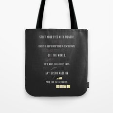 Darkest Before The Dawn... Tote Bag