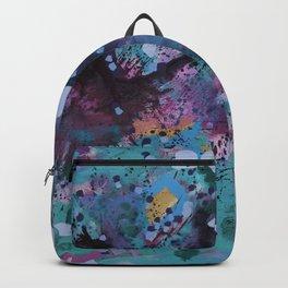 Sparkling nature in summer Backpack