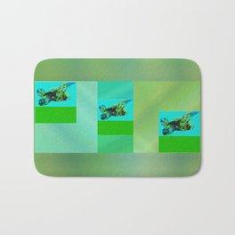 Flying Turtle Bath Mat