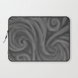 Dark Gray Swirl Laptop Sleeve