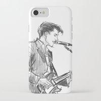 alex turner iPhone & iPod Cases featuring alex turner [4] by roanne Q