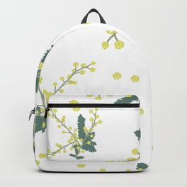 Spring time wattle Backpack