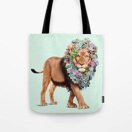 SUCCULENT LION Tote Bag