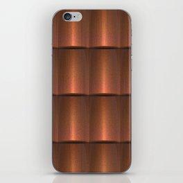copper work iPhone Skin