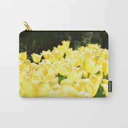 Yellow Tulips on a Sunny Day Carry-All Pouch
