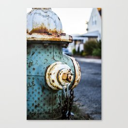 Hydrant Canvas Print