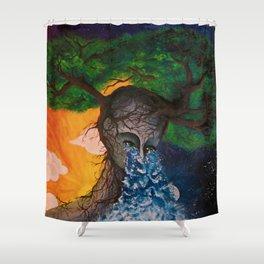 Weep Shower Curtain