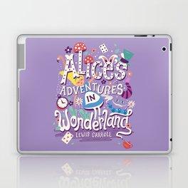 Alice's Adventures in Wonderland - Lewis Carroll Laptop & iPad Skin