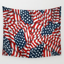 American Flag 009 Wall Tapestry