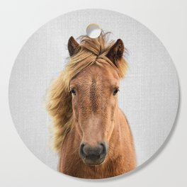 Wild Horse - Colorful Cutting Board