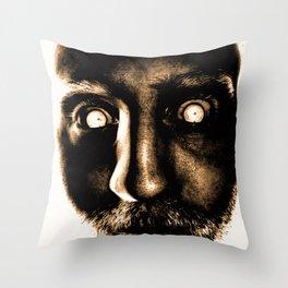 Zombie! Throw Pillow