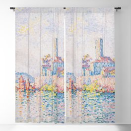 Paul Signac - The Towers at Antibes Blackout Curtain