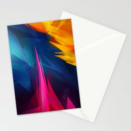 Geometric Colors Stationery Cards