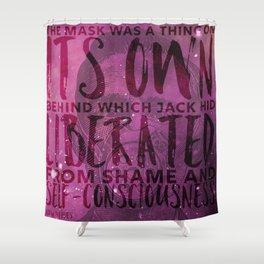 Its own liberated self-consciousness Shower Curtain