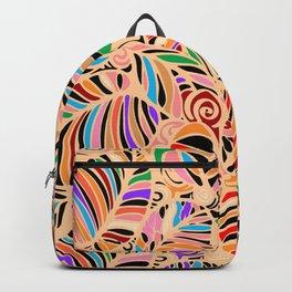 Summer Leaves Colors Backpack