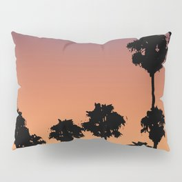Vaporwave\\Palm Pillow Sham