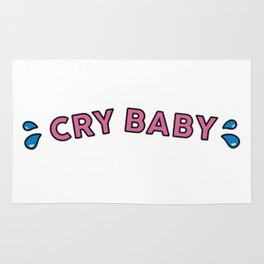 Cry Baby Rug