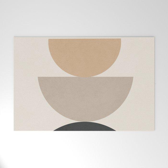 Geometric Modern Art 31 Welcome Mat