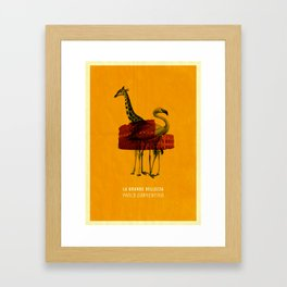 The Great Beauty Poster Framed Art Print