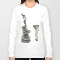 movie posters Long Sleeve T-shirts featuring Movie by Krysucat