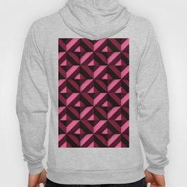 Concrete wall - Wine red Hoody