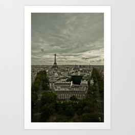 Paris, France Art Print