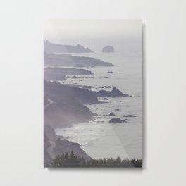 Big Sur Coastline Metal Print