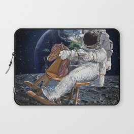 Space Cowboy Painting | Woke Up From A Dream For This Idea Laptop Sleeve