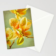 sunny magnolias Stationery Cards