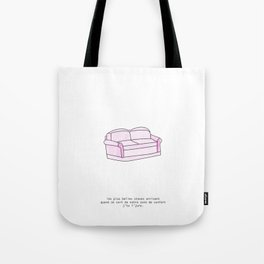 Zone de confort Tote Bag