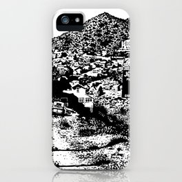 Jerome Ghost Town iPhone Case