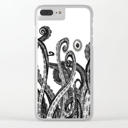 The Octopus World Clear iPhone Case