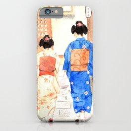 Maikos in Japan iPhone Case