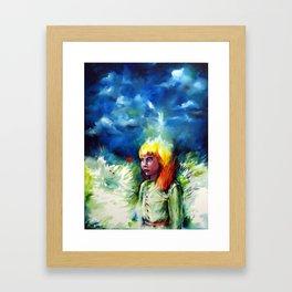 Inner Field. Framed Art Print